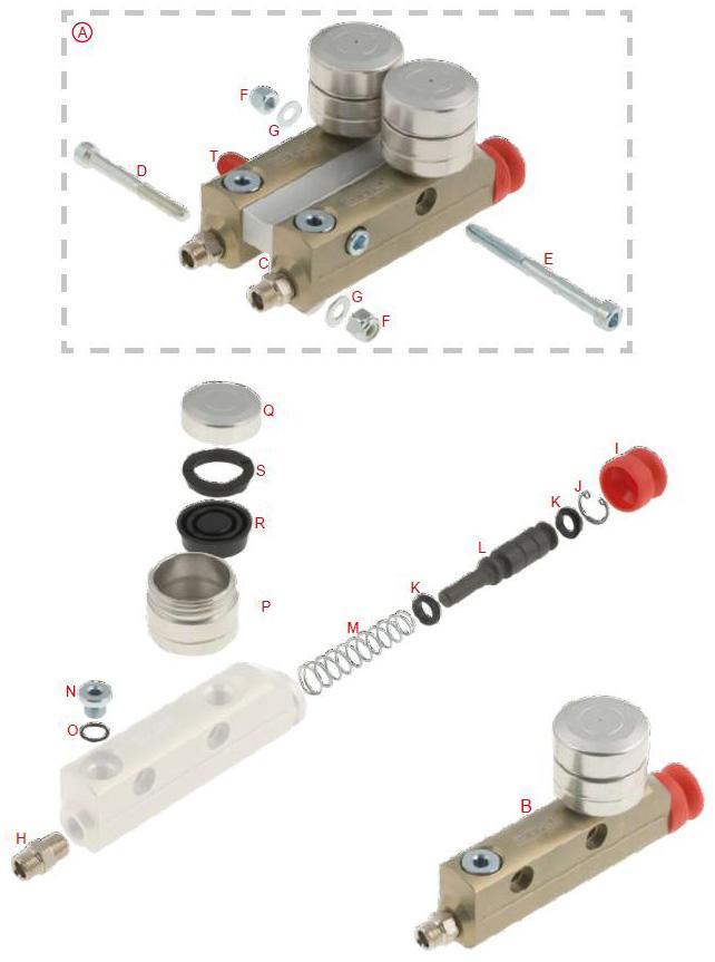 Master Cylinder BS3-6