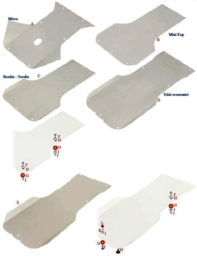 Floor Tray and Skid Plates
