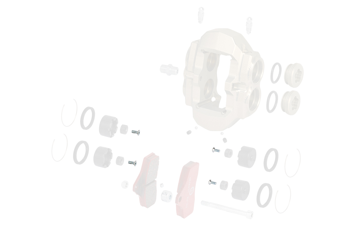 V.TPSCEI3X8 Tony Kart (OTK) COUNTERSUNK HEAD SCREW 3X8