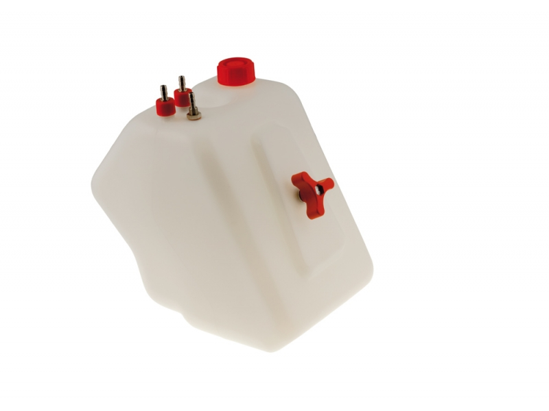 Tony Kart Fuel Tank - 8.0 Liter (3-Connection)