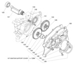 (125) X30125758 X30 Retaining Clip Shaft Gear