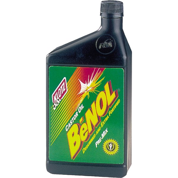 Benol 2-Cycle Racing Castor Oil (32oz)
