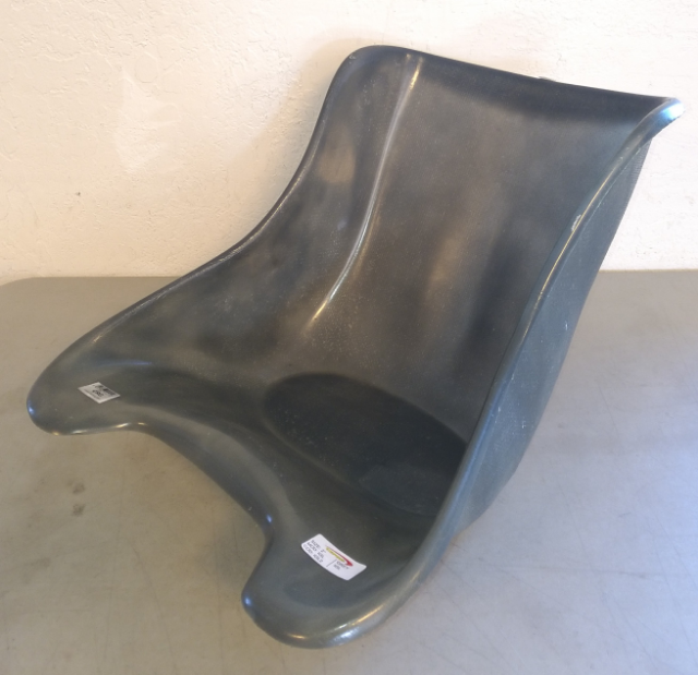 CRG OEM Grey Fiberglass Flat Bottom Seat, Size #2