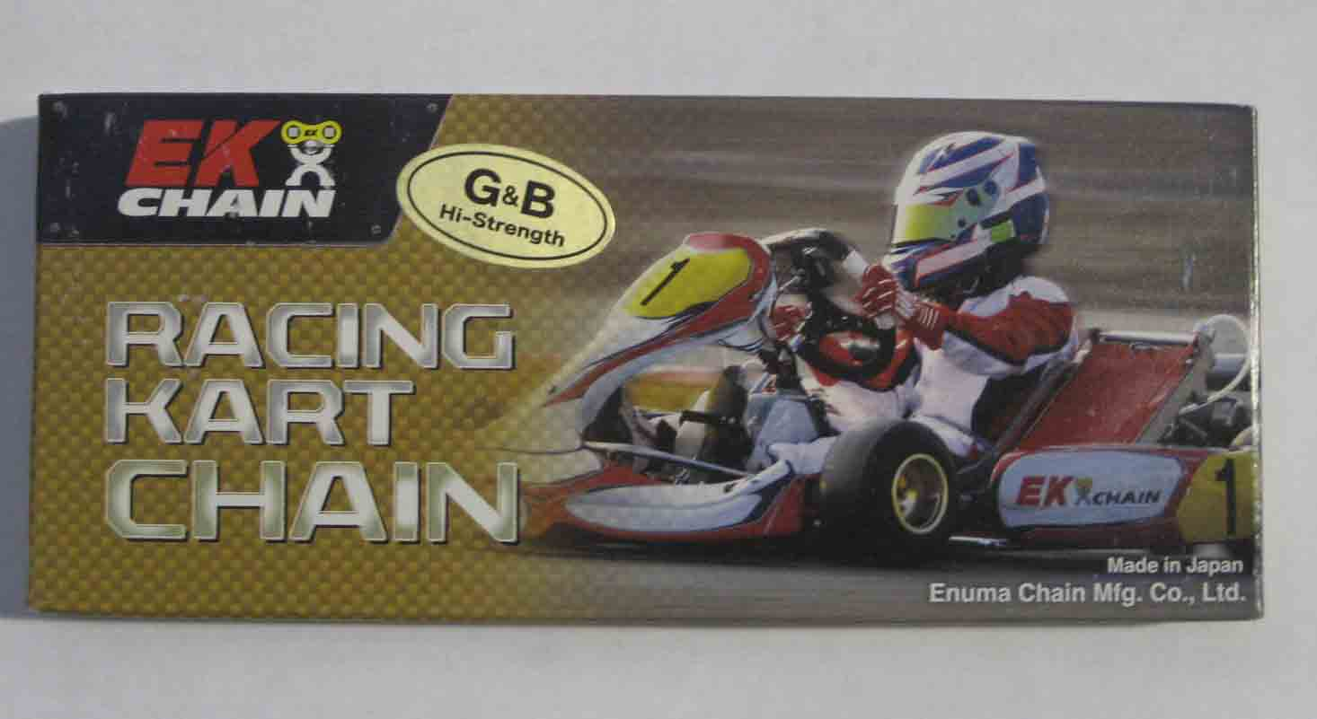 EK RT #35 G&B Racing Chain (Gold & Black) - 120 Link