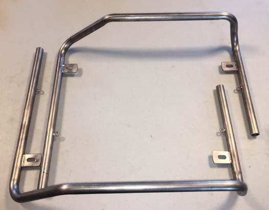 Titanium KG Stilo EVO Style Nerf Bars (1 Pair)
