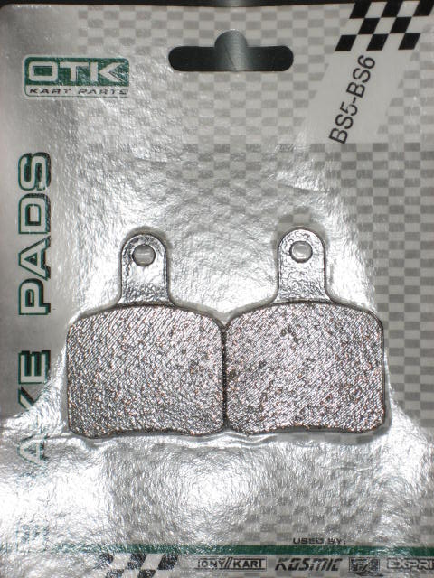 Tony Kart (OTK) Brake Pads (SA2/BS3-7) - (2-pads) - OEM RED
