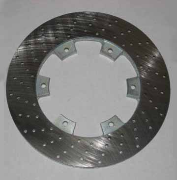 FTP Drilled & Vented Brake Rotor, 200x12mm