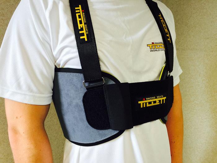 Tillett P1 Rib Protector - Grey -