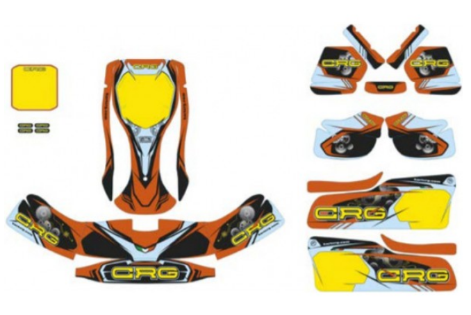 AFS.05202 CRG NA3 Graphics Kit Complete - 2020