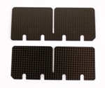 (173) F-11840-C IAME X30 Optional Carbon Fiber Reed Petals, Pair