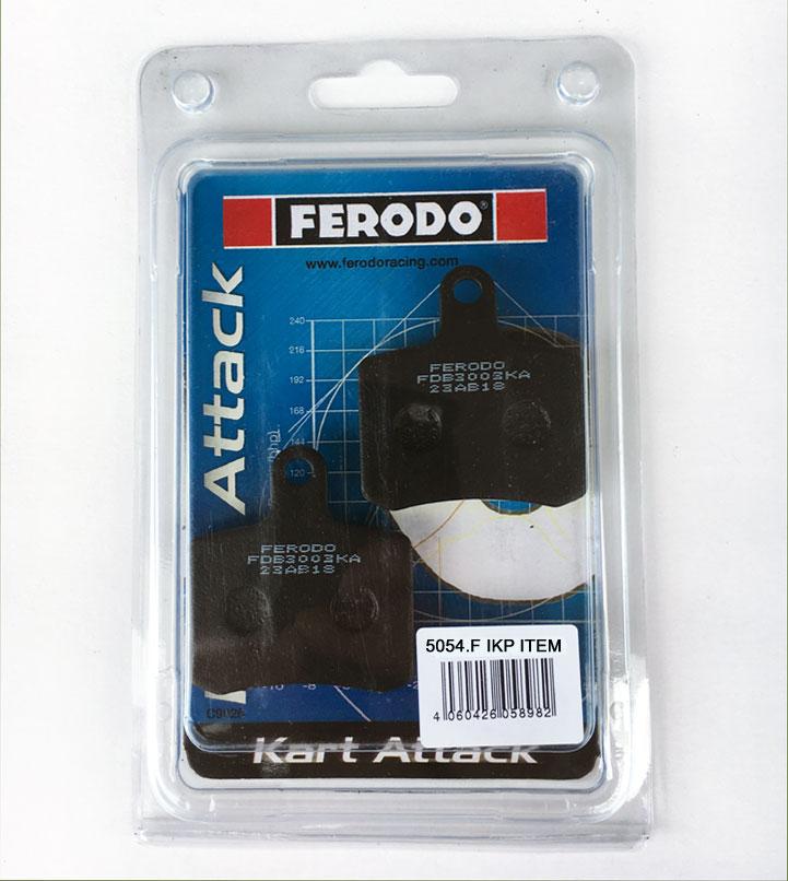 Tony Kart (OTK) Brake Pads (BSD) - (2-pads) - Ferodo