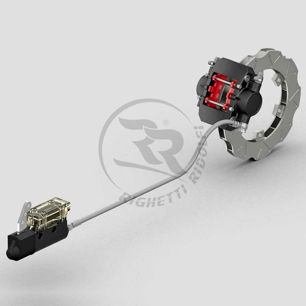 Righetti MA20 Complete Rear Brake System