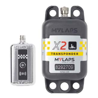 MYLAPS X2 TRANSPONDER KART (AMB) - with 1 year subscription