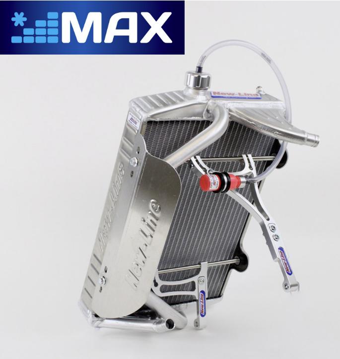 "New-Line Radiator w/ Mount & Cap - DOUBLE-MAX, Dual-Pass (17x11.4"")"