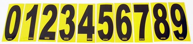 OTK Vinyl Numbers