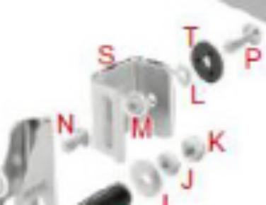 S. 0312.00, Tony Kart OTK Bumper Extension for Mini Bumper (1-pair)
