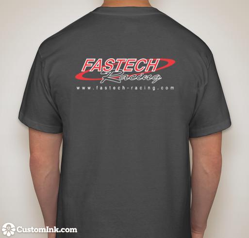 Fastech-Racing T-Shirt - Hanes - GREY