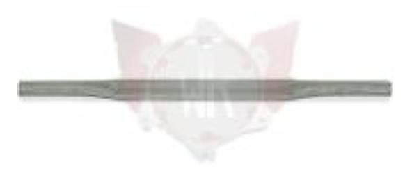 Wildkart Rear Torsion Bar, Chrome, 480x28mm