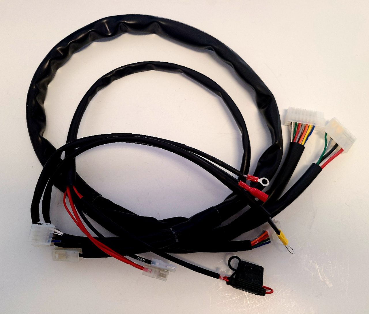 X30125935-C X30 Wiring Harness (for key ignition, white plug)