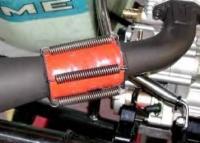 """Silicone Flex Wrap - Hi Temp Sleeve - 50mm ID (12"""" Section)"""