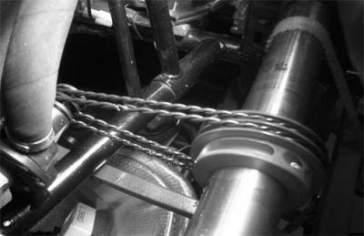 Twisted Urethane Water Pump Belt
