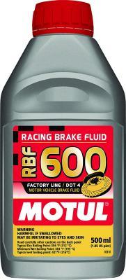 Motul RBF 600 Factory Line Brake Fluid - 500ml