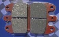 CRG / GP VEN05/09 Rear Brake Pads - Red Carbon