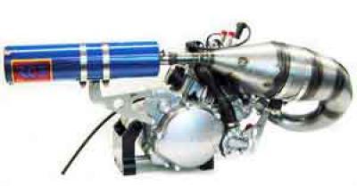 Hegar R4 & SK-1 Pipe & Silencer Mount Kit - (Fits 2001 CR125)