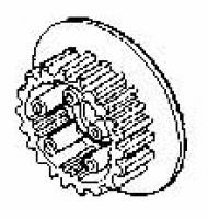 Honda CR125 Clutch Center #22120-KS6-010