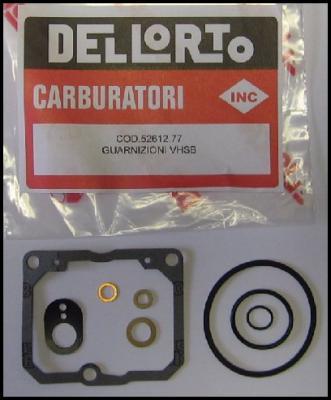 Dellorto VHSB Gasket Set (52612)
