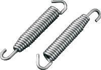 Moose Stainless Steel Swivel-End Exhaust Spring (2 springs)