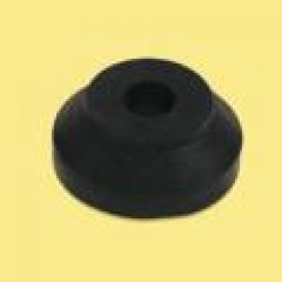 Rubber Seat Spacer (30mm OD, 8mm ID, 12mm Height) BLACK