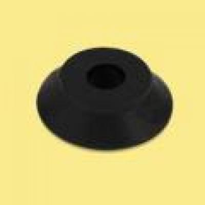 Rubber Seat Spacer (30mm OD, 8mm ID, 8mm Height) - BLACK