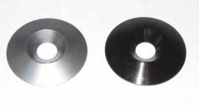 Anodized Aluminum Finish Washers - 8x33mm