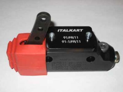 ItalKart Master Cylinder w/ Reservoir - BLACK