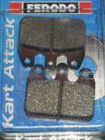 CRG / GP VEN05/09 Rear Brake Pads - Ferodo
