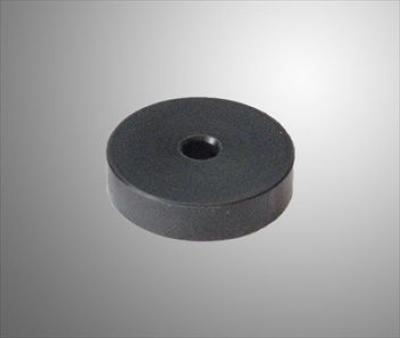 Hard Nylon Seat Spacer (40mm OD, 8mm ID, 10mm Height) - BLACK