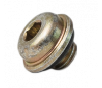 Beadlock Block-Off w/ O-rings (12 pack) - Silver