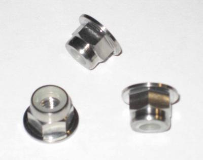 Titanium Flanged Nylock: 6mm (Sold Individually)