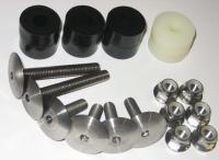 Titanium Low-Profile Seat Mounting Kit
