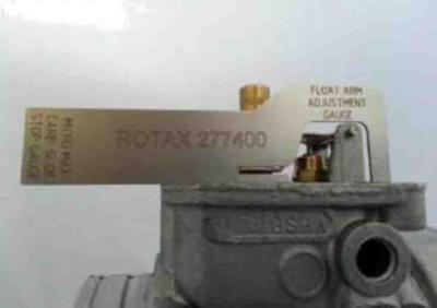 Rotax Float Arm Adjustment Gauge