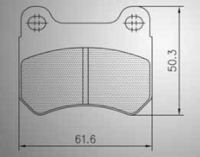 Energy Rear Brake Pads - GS