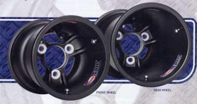 Douglas Magnesium Wheels -  Vented Low Volume (Sold in Pairs - 2 wheels)