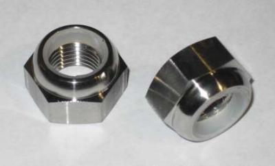 Titanium Nylock: 14x1.5mm (Spindle Nut) (Sold Individually)