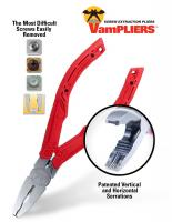 VamPLIERS - Screw Extraction Pliers (Master Link Pliers)