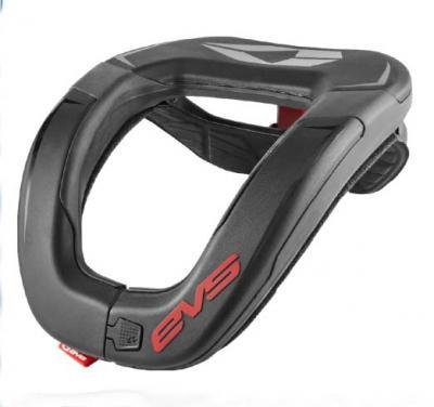 EVS R4 Race Collar - Adult, Black