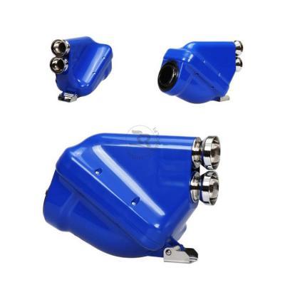 Righetti Ridolfi ACTIVE Airbox - 23mm - Blue/Chrome