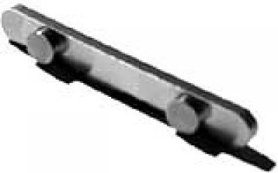 2-Peg Axle Key: 60x8x3 (7.5mm Ø, 30mm spacing)