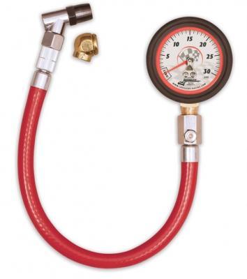 "Longacre (0-30) PSI Tire Pressure Gauge, 2"" Dial"