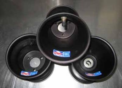 "Douglas ALUMILITE Aluminum Wheel: 5""⌀ x 5.125"" Width (3x58mm) - (Sold Individually)"
